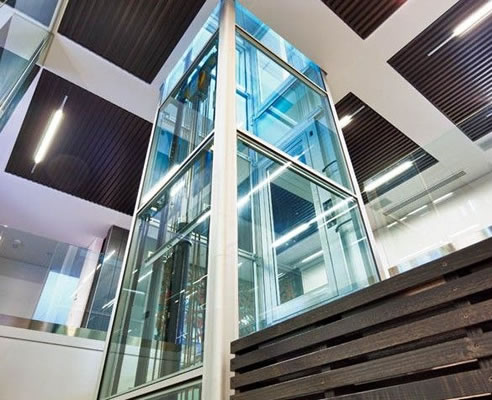 Glass Lift Shaft