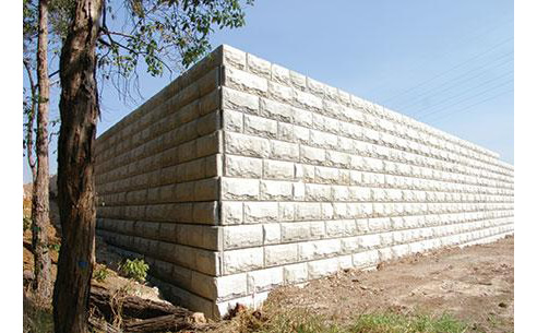Engineered Retaining Wall System Concrib