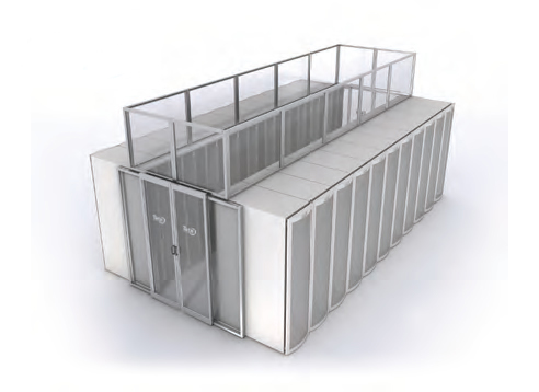 aisle containment solutions for data center