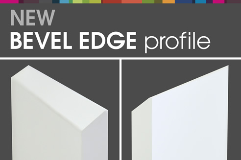 polytec bevel edge door profile  sc 1 st  Spec-Net & Bevel Edge Kitchen Cabinet Door Profile | Polytec