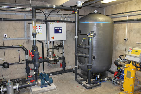 Commercial Pool Water Filtering Waterco