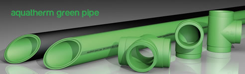 green pipe aquatherm