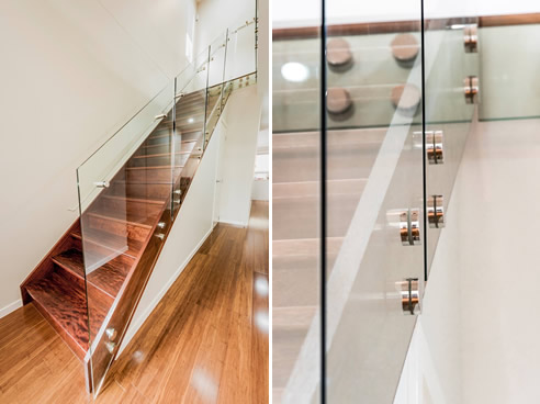 Frameless Glass Staircase Handrails From Miami Stainless