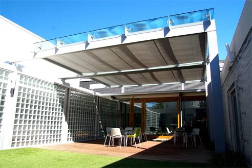 Horizontal Roof Shading Awnings Shade Factor