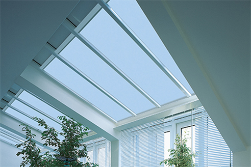 Ceiling Roller Blinds Shade Factor