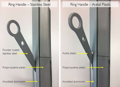 improved ring handles