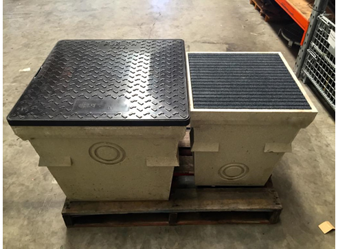Polymer Concrete Pits with Matching Covers