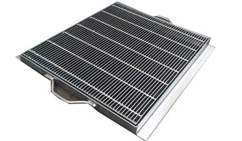 Galvanised Trench Grate