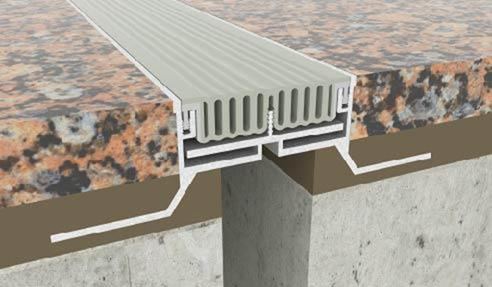 Architectural Floor Expansion Joint