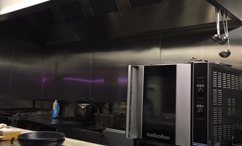 Fire-Resistant Board for Commercial Kitchen
