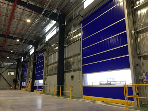 Warehouse Logistics High Speed Doors