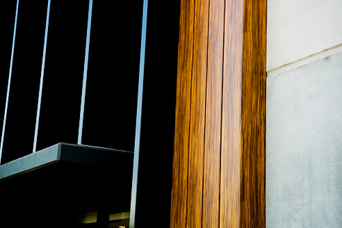 Woodgrain facade products from Fairview Architectural
