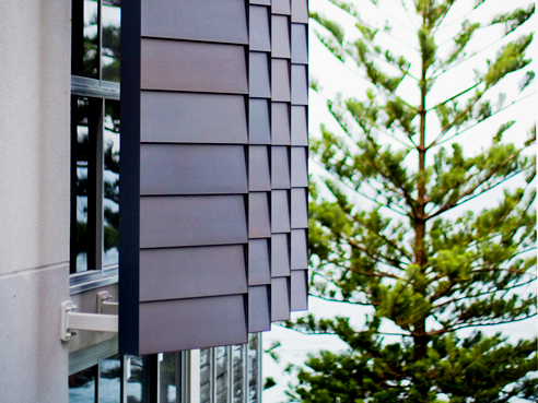 Non-combustible cladding system from Fairview Architectural