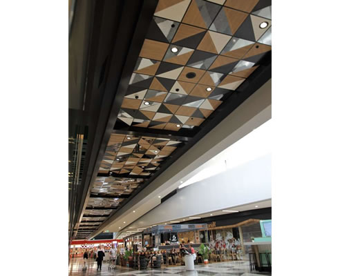 Ceiling Feature Narellan Shopping Centre