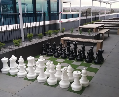 rooftop chess board