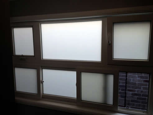 Privacy Glass uPVC Windows