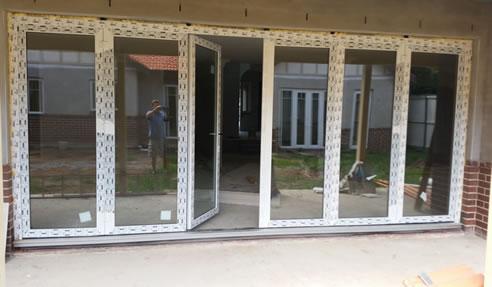 Reinforced uPVC Bifold Doors for Residential Applications by Wilkins Windows & Reinforced uPVC Bifold Doors for Residential Applications   Wilkins ...