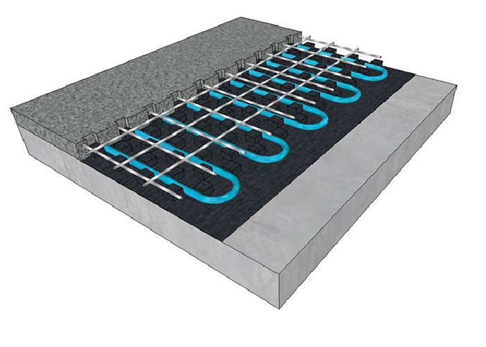 10mm Hydronic Floor Heating from dPP Hydronic Heating
