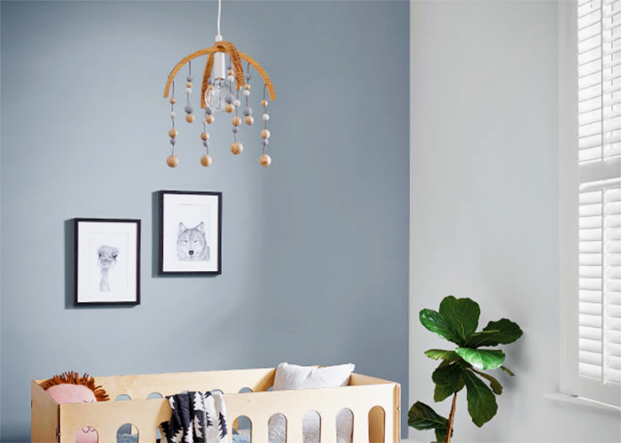 Beautiful Nursey Paint Project Ideas with Dulux