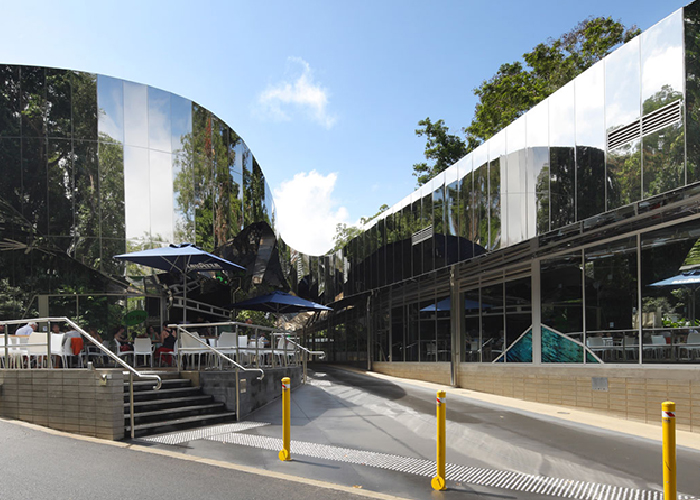 Commercial Polished Stainless Steel Facades from Smartfix