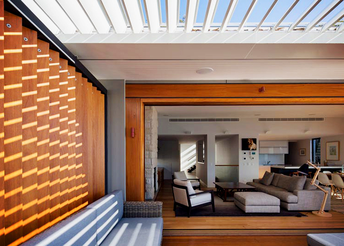 Louvre Roofs for Outdoor Entertaining Areas from Vergola