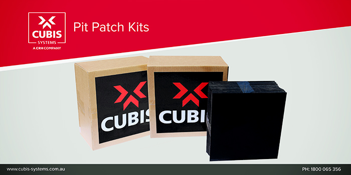 Pit Patch Kits from CUBIS Systems