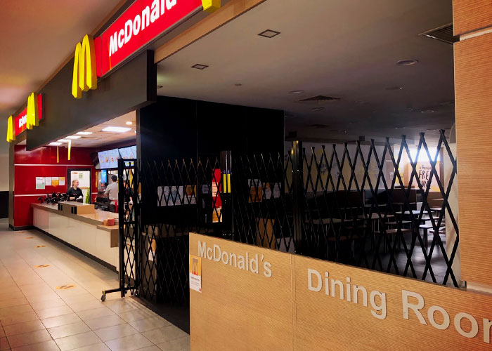 Australian Access Control Barriers for McDonalds by ATDC