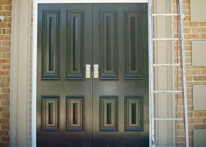 Classic Timber Front Doors for Heritage Homes by Wilkins Windows