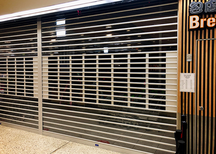 New Ventilation Friendly Commercial Roller Shutter from ATDC