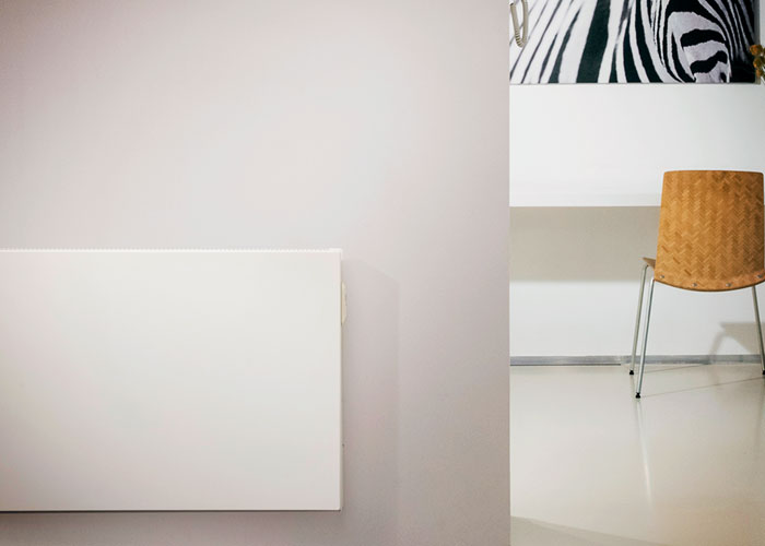 Stylish Electric Radiator Panels from dPP Hydronic Heating