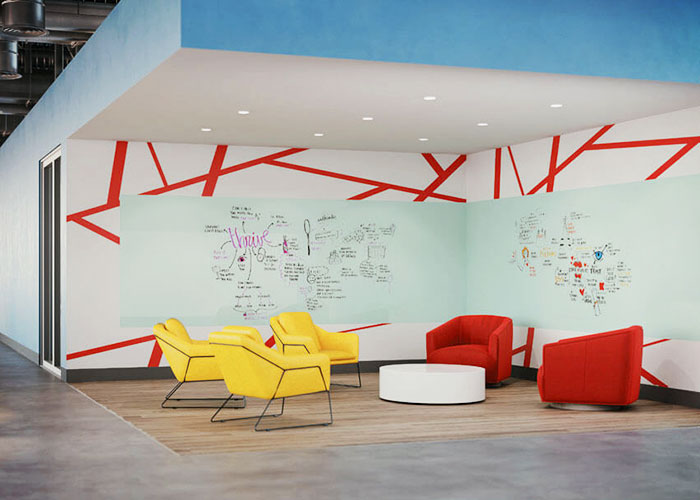 Writable Commercial Surfaces by Lustrolite® from Allplastics
