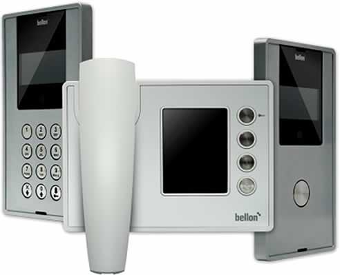 Bellon Series Ip Video Intercoms From Hills Technology