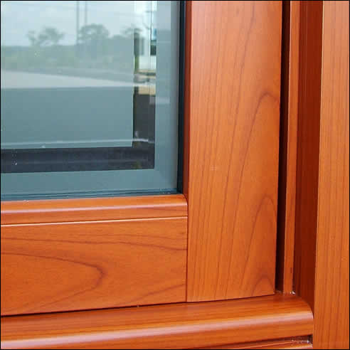Decowood Woodgrain Finish On Aluminium