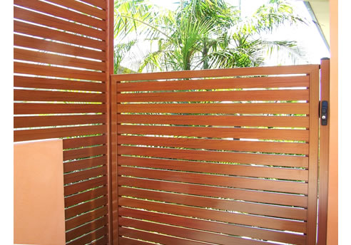 Aluminium Timber Look Fencing And Screens By Decowood