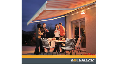 Infra Red Patio Heating From Spacespan Patio Amp Louvre Systems