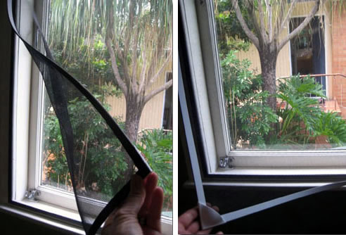 Magnetic Insect Screens Freedom Retractable Screens
