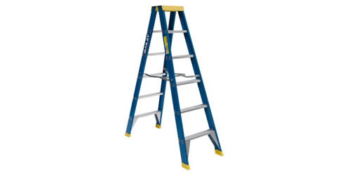 Fibreglass Double Sided Step Ladders Little Jumbo Ladders