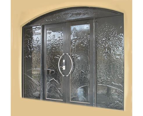Custom Slumped Glass Entry Doors Profile Glass Kilsyth