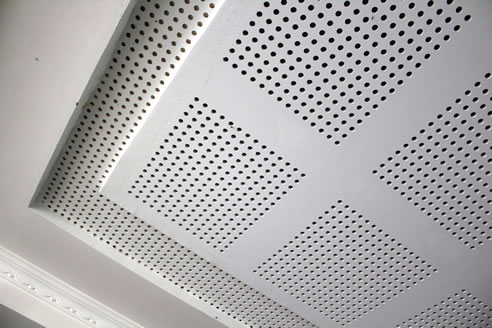 Perforated Plasterboard Acoustic Panels Sontext