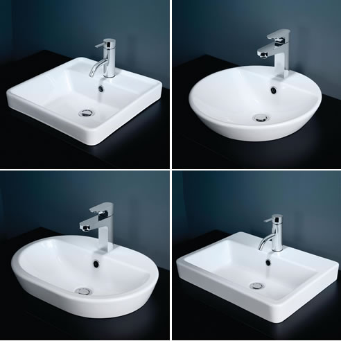 Inset Basin Range By Caroma From Gwa Bathrooms Amp Kitchens