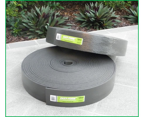 self-wound expansion joint filler