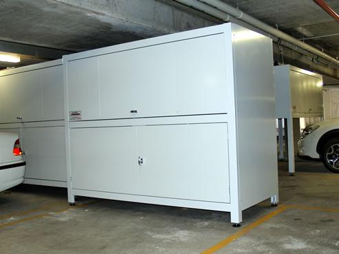Garage storage units western australia from space commander for Apartment garage storage
