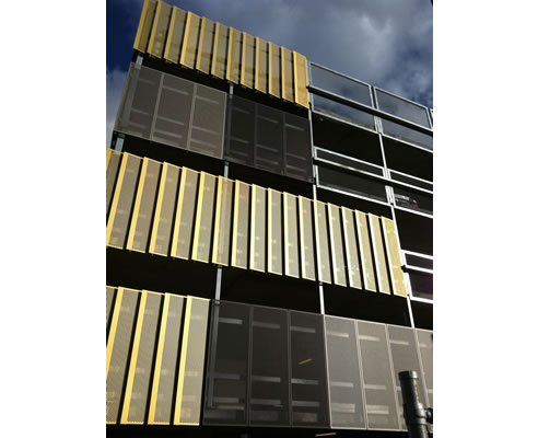 anodised architectural aluminium screens