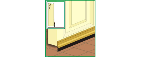 Incroyable Door Strip Seal