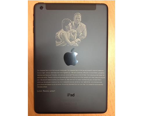 Ipad And Laptop Engraving From Architectural Signs Sydney