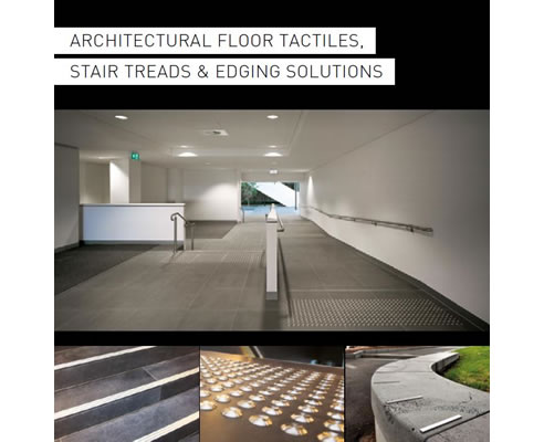 dtac tactiles stair treads edging