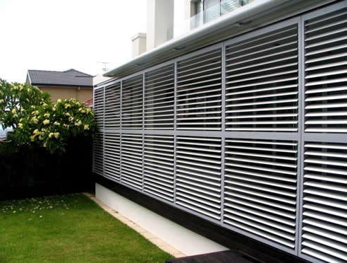 Custom Coloured Aluminium Louvres Jwi Louvres