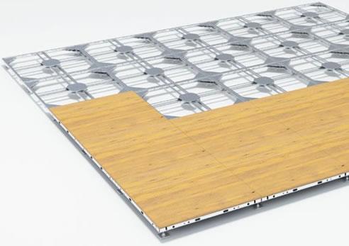 Aluminium Raised Floor Frame Octonorm