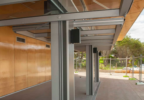 Glide Away Tilt Wall Smartech Door Systems