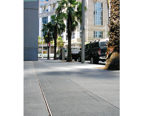 Discreet Pavement Drainage With Brickslot Aco